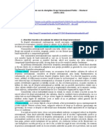 Tema 1 Subiectele DIP