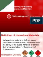 Training for Handling Hazardous Materials