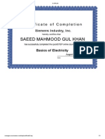 Certificate 1