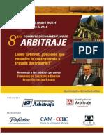 8vo. Congreso Latinoamericano de Arbitraje (1)