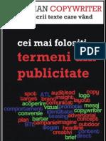 Cei Mai Folositi Termeni Din Publicitate - Advertising Dictionary
