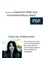 Music Video Conventions