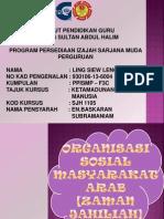Organisasi Sosial Masyarakat Arab