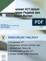 Penggunaan ICT Dalam Pengurusan Pejabat Dan Tugas Harian-Kursus Bimbingan PTK