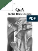 Q&A Basic Beliefs