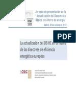 01 DBHE y Directivas Javier Serra Maria-Tome