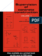 Supervision of Concrete Construction Viewpoint Publication Series Volume 1