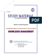 Knowledge Management Document