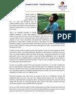 Microsoft Word - Sense India- Profile 2012