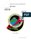 NASA Space Shuttle STS-45 Press Kit