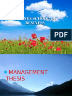 Ppt Thesis