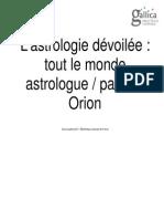 traité d'astrologie