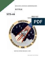 NASA Space Shuttle STS-44 Press Kit