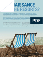 Aug 2009 - A renaissance for the resorts?