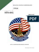 NASA Space Shuttle STS-41G Press Kit