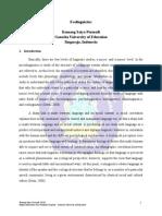 Ecolinguistics by Komang Satya Permadi