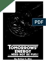 1979 - Arthur C. Aho - Tomorrow's Energy ...Need Not Be Fuel!-Txt-Opt