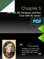 Rizal's Noli and the Savior of Noli, Tour with him
