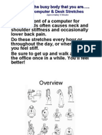 4 Minutes Office Exercises