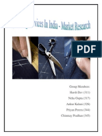 Report on Tailoring Services