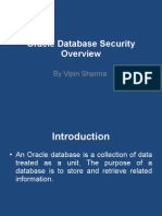 Oracle Database Security Overview