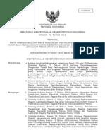 Peraturan Menteri Dalam Negeri Nomor 72 Tahun 2012 tentang Biaya Operasional dan Biaya Pendukung Penyelenggaraan Pengadaan Tanah bagi Pembangunan untuk Kepentingan Umum yang Bersumber dari Anggaran Pendapatan dan Belanja Daerah