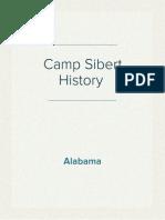Camp Sibert History