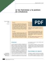 Funciones y Postura en Ortodoncia