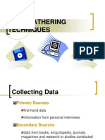 03 Data Gathering Techniques