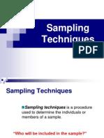 04 Sampling Techniques