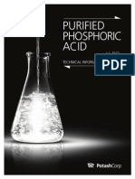 Phosphoric Acid Manufacturing: using raw materials and salfuric acid