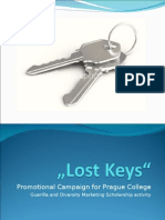 Lost Keys - Guerilla Marketing campaign