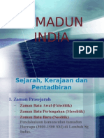 Tamadun India - Sej, Kerj & Ptdbn