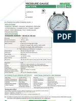 Aq-differential Pressure Gauge