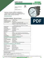 Ba-differential Pressure Gauge