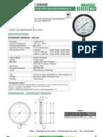 Bd-utility Pressure Gauge