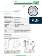 Bn-Ammonia Pressure Gauge