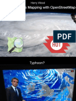 Typhoon Crisis Mapping with OpenStreetMap, with Harry Wood