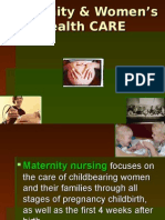 Introduction to Maternity Nursing