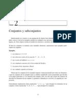 Clase02 Conjuntos y Subconjuntos