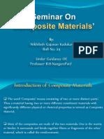Seminar On Composite Materials