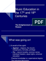 Music Education in the 17th and 18th2