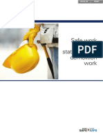 Safe Work Method Statement for Demolition Work WC03833