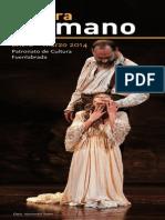 Cultura en Mano - Programación Enero-marzo 2014