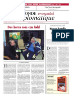 Dos horas más con Fidel-Ignacio Ramonet