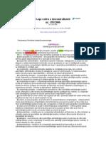 Lege Nr 1952006 Legea - Cadru a Descentralizarii
