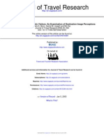 Journal of Travel Research 2005 Bonn 294 301