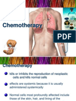 Chemotherapy for oncology nursing subject