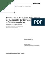 Aplicación de las normas internacionales del trabajo, 2011
