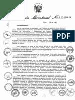 Normas y orientaciones para el desarrollo del año escolar 2014 en educación básica